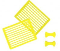 Pelzer Boilie Stops Gelb 90 Stück