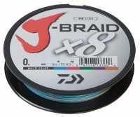 Daiwa J-Braid X8 300m Multi-Color