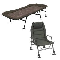 DAM Camo Flatbed Alu 6 Legs + Anaconda Magist Chair