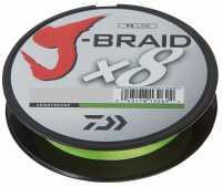 Daiwa J-Braid X8 Chartreuse 150m
