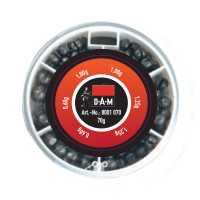 DAM Split Shot Dispenser Rough 70g 0,60-1,25g
